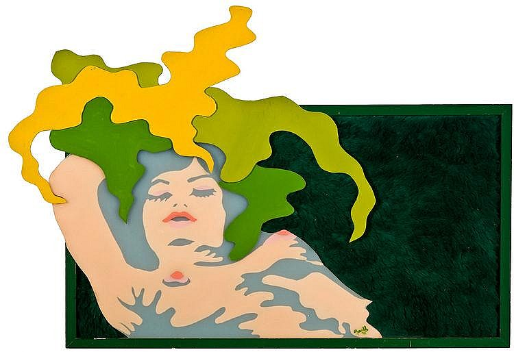 Axell  Evelyne (1936-1972) The sleeping beauty (1971)