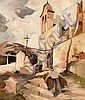 Barthélemy  Camille (1890-1961) A church in Spain, Camille Barthélemy, Click for value