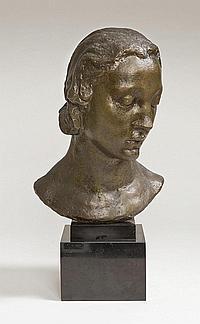 Wlerick Robert (1882-1944) Bust of Jenny