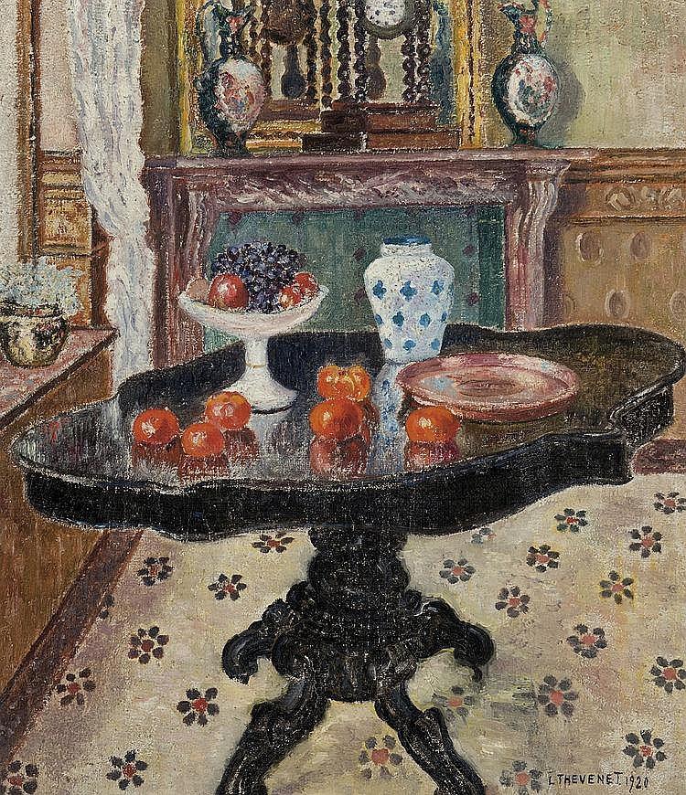 Thévenet  Louis (1874-1930) Interior (1920)