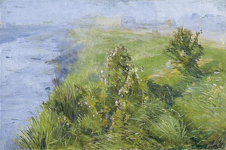 Buysse  Georges (1864-1916) Les brumes du matin (1895)
