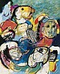 Cobbaert  Jan (1909-1995) Composition with figures, Jan Cobbaert, Click for value
