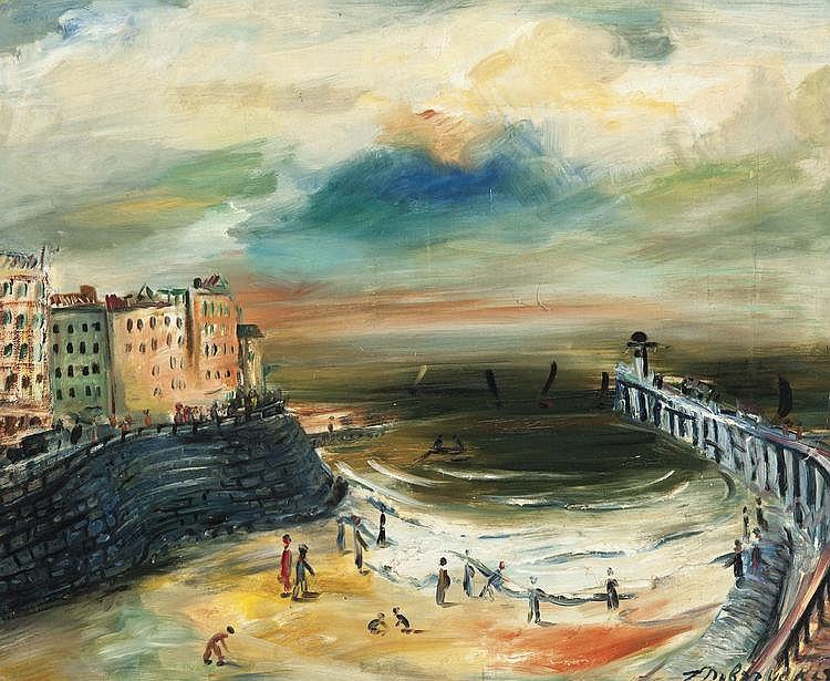 Dobrzycki  Zygmunt (1896-1970) Ostend (1929)