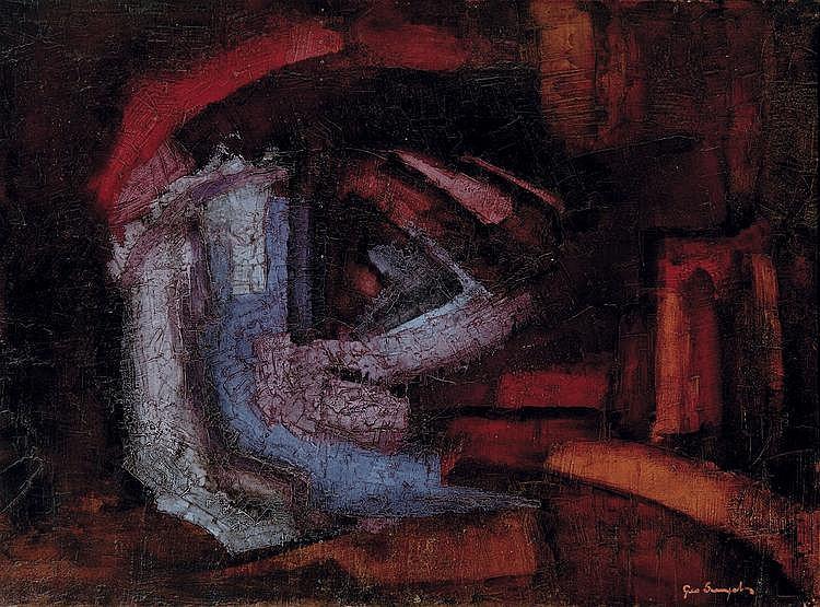 Sempels  Geo (1926-1990) Composition (MA9) (1960)