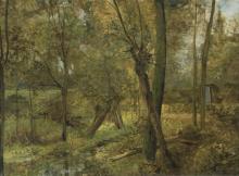 De Cock César - Woodland view (ca. 1892)