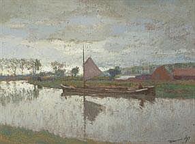 MAURICE SIJS 1880 - 1972 Belgian school IMPRESSION