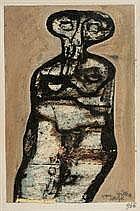 WILLEM VAN HECKE 1893 - 1976 Belgian school FIGUUR