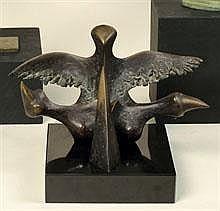 ROLAND MONTEYNE 1932 - 1993 Belgian school VOGEL