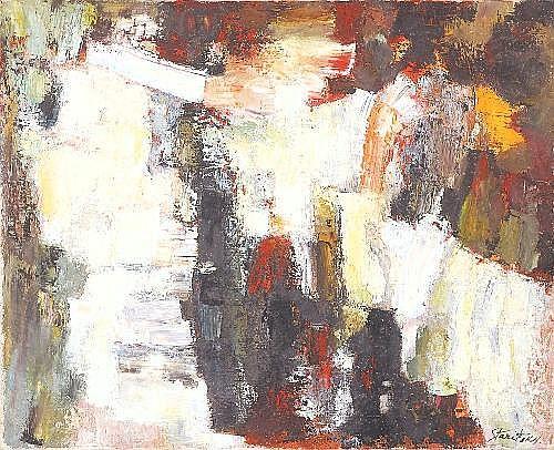 ANNA STARITSKY 1908 - 1981 Belgian School