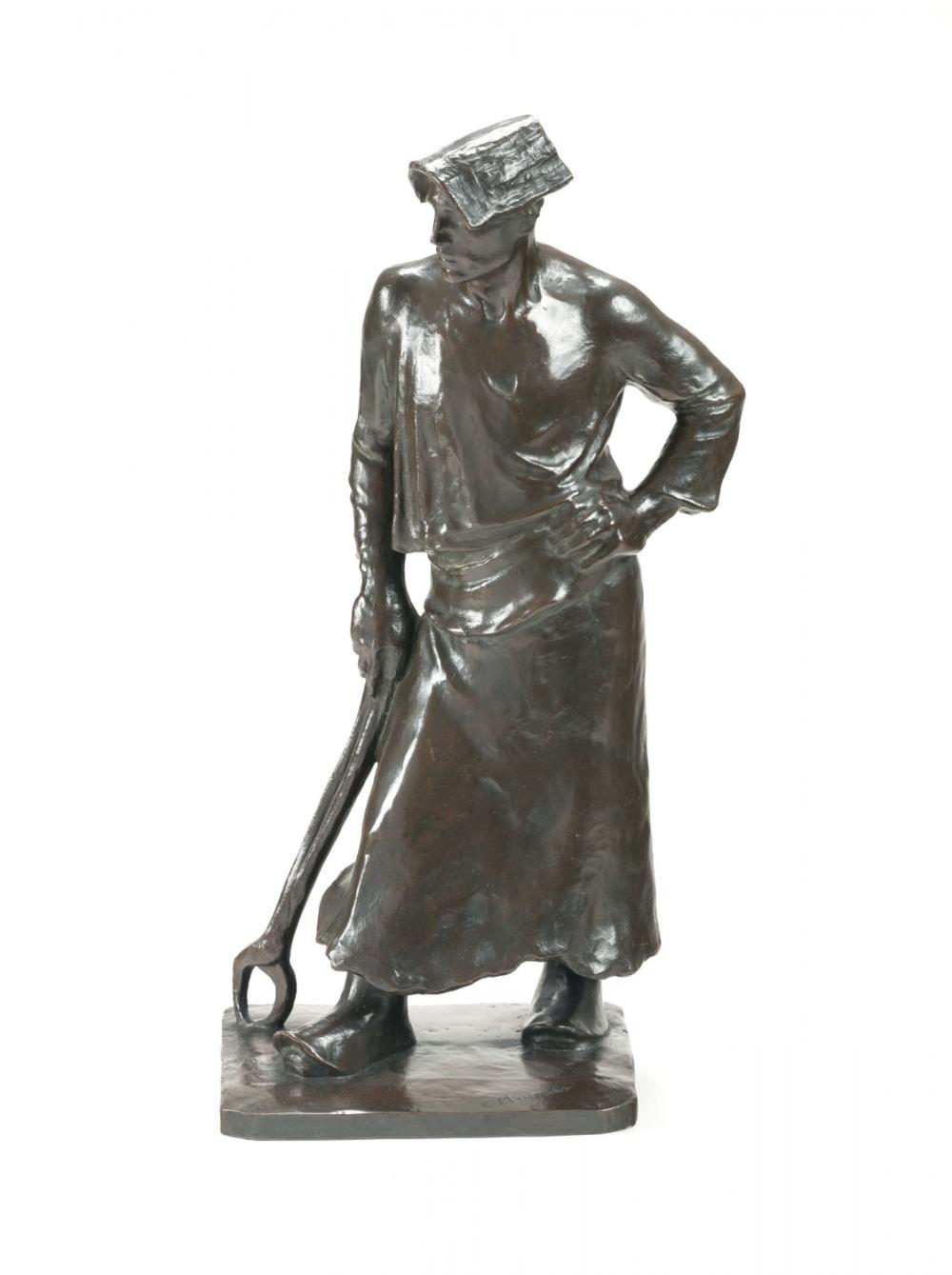 Meunier Constantin - The blacksmith (1886)