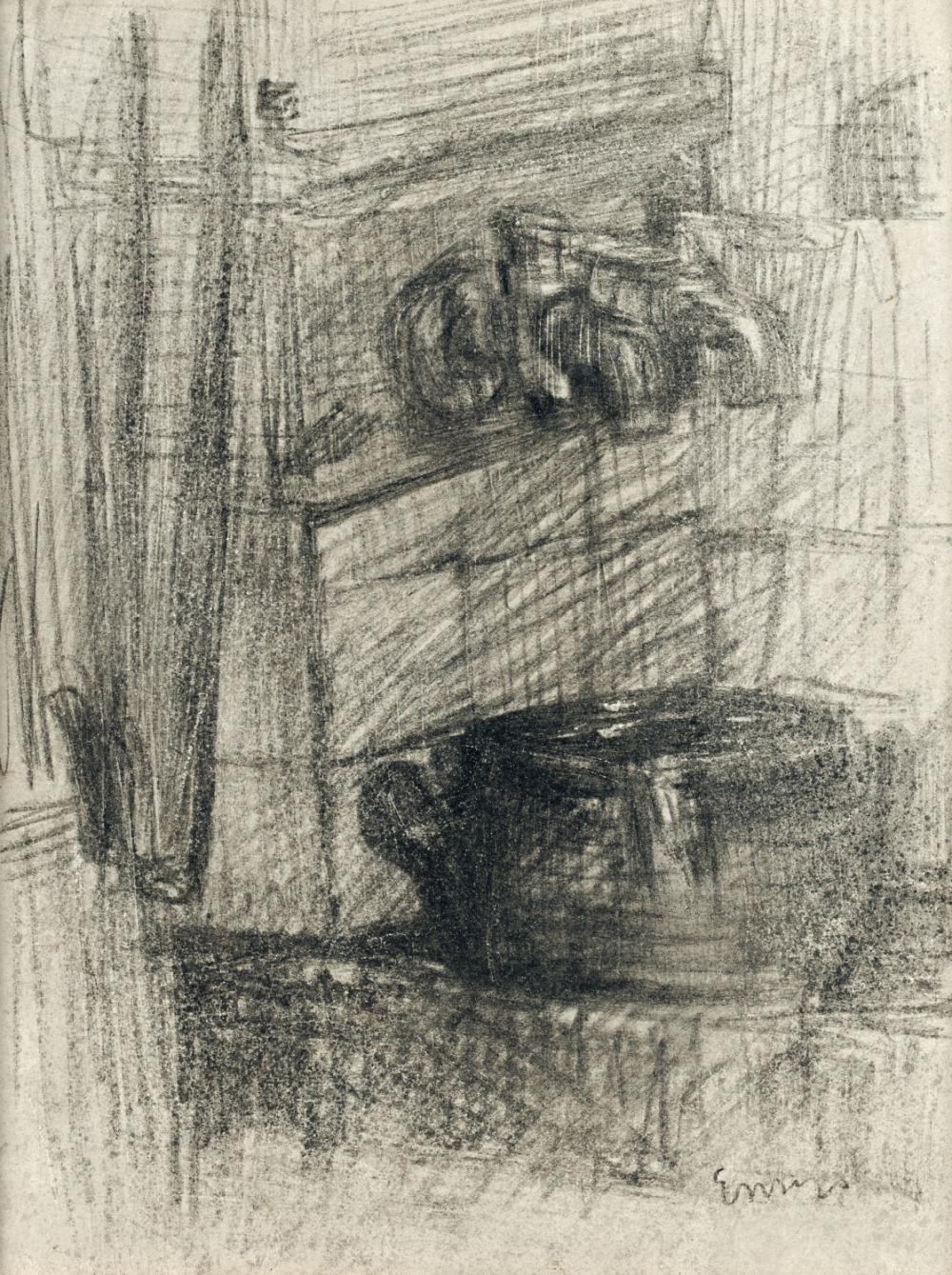 Ensor James - The sink (ca. 1882-85)