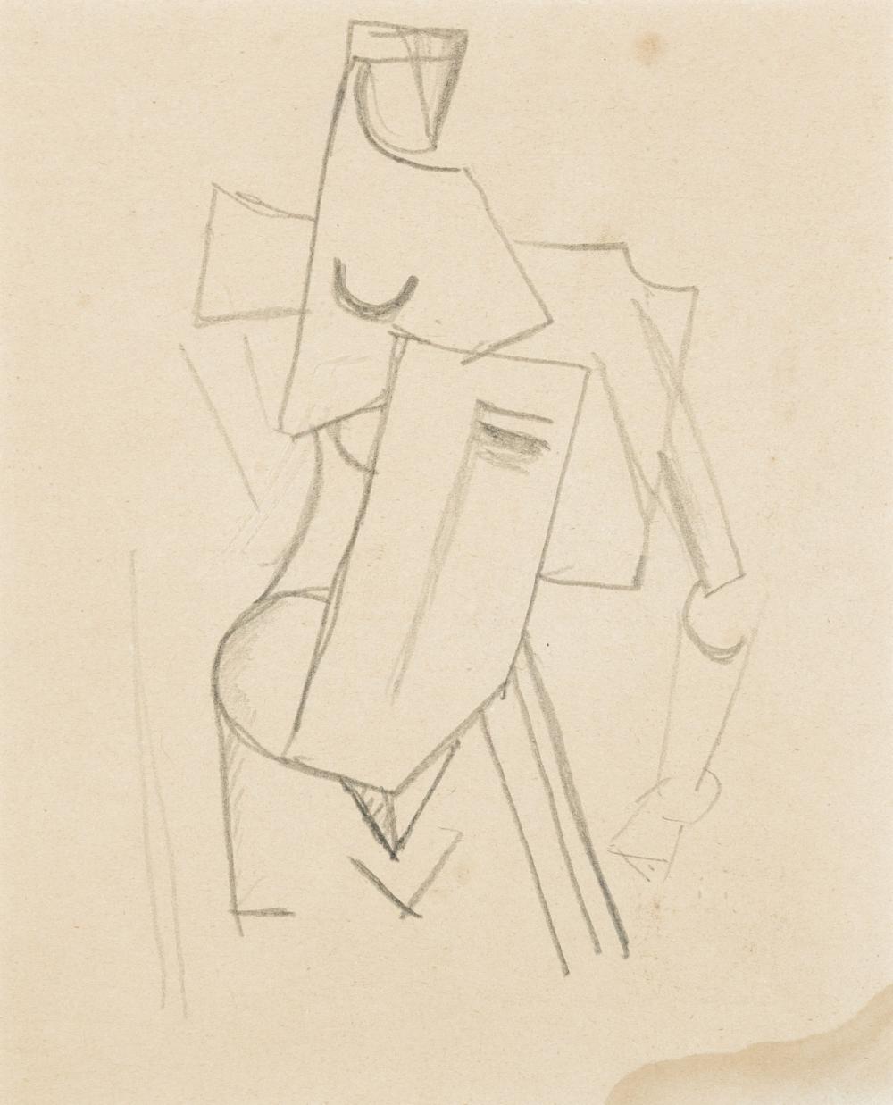 Gutfreund Otto - Cubist composition (ca. 1914-16)