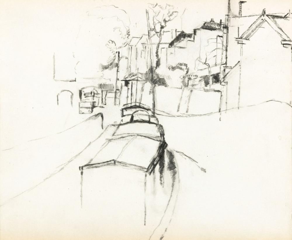 Delvaux Paul - Quartier Léopold (ca. 1920-30)