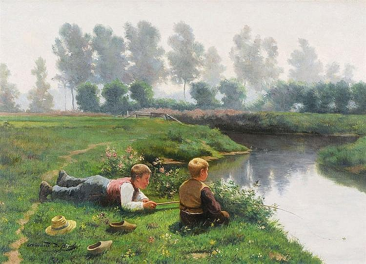 ARMAND DE BEUL 1874 - Belgian School VISSERTJES