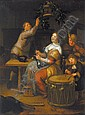 RICHARD BRAKENBURG 1650 - 1702 Dutch School, Richard Brakenburg, Click for value