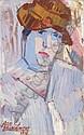 JEAN BRUSSELMANS 1884 - 1953 Belgian School FEMME, Jean Brusselmans, Click for value