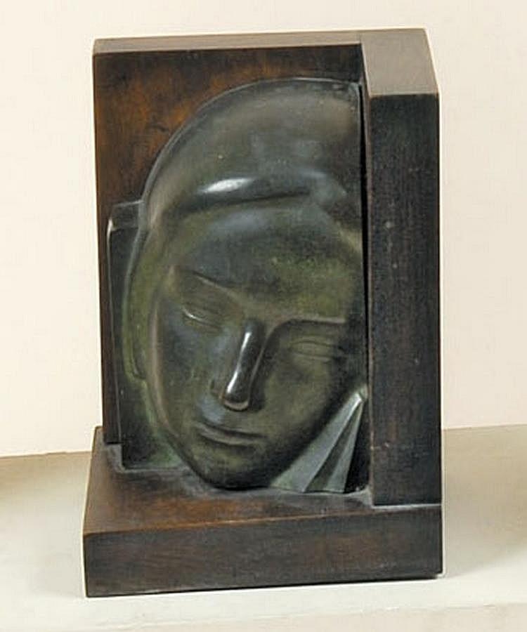LEON SARTEEL 1882 - 1942 Belgian School GEZICHTJE