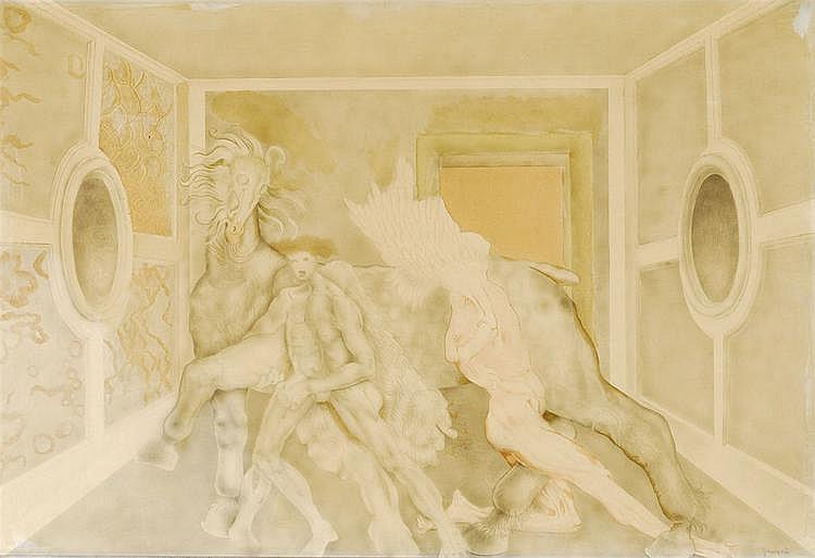 CARLO GUARIENTI 1923 - Italian School COMPOSITION