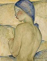 AUGUSTE MAMBOUR 1896 - 1968 Belgian School FEMME