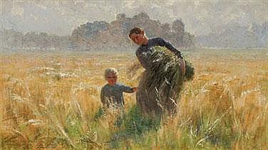 EMILE CLAUS 1849 - 1924 Belgian School FLANDERS