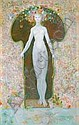 LEONOR FINI 1908 - 1996 French School THE LOCK -, Leonor Fini, Click for value