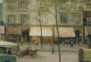 MAURICE DUPUIS 1882 - 1959 Belgian School AVENUE
