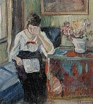 PIERRE SCOUPREMAN 1873 - 1960 Belgian School