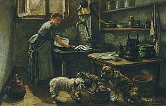 JAN BAPTISTE STOBBAERTS 1838 - 1914 Belgian School