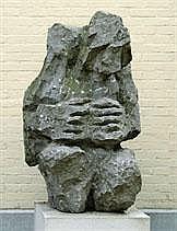 EUGÈNE DODEIGNE 1923 - Belgian School CROUCHING
