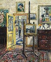 JEHAN FRISON 1882 - 1961 Belgian School