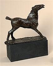 JOS DE DECKER 1912 - 2000 Belgian School PAARD