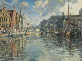 FERDINAND WILLAERT 1861 - 1938 Belgian School THE