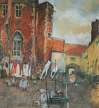 JULES DE BRUYCKER 1870 - 1945 Belgian School