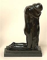 GEO VERBANCK 1881 - 1961 Belgian School TREURENDE