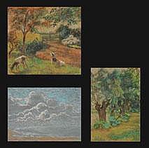 ANNA DE WEERT 1867 - 1950 Belgian School JEUNES