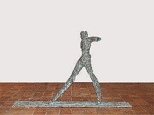 JOHAN TAHON 1965 - Belgische School AN-SICH (CA. 1996-1997) Sculptuur - Sig. - Ex. nr. 1/3 - H.136 Br.114  Euro E10000.00-12000.00  E10685.00-12822.00