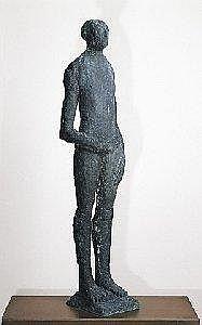 JOHAN TAHON 1965 - Belgische School  VARIATIE OP URNE MET NECTAR (CA. 1991) Sculptuur - Sig. - H.138.5 Br.32 Euro E7500.00-9500.00  E8013.75 10150.75