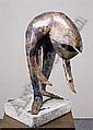 REINHOUD (D'HAESE) 1928 - Belgische School PAPONIDE (1999)  Sculptuur - Onderaan 1999 met titel - H.54 Br.38 E6.000,00-7.000,00, Reinhoud d'Haese, Click for value