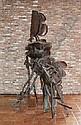 Bailleux Cesar 1937 Belgian School Le philosophe Sculpture H.245 Br. 140, César Bailleux, Click for value