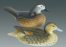 1/2 Size Joiner Pintail Hen and Wood Duck Hen