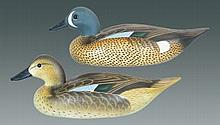 Pair of Joiner Blue Winged Teal