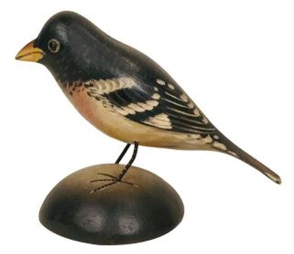 Life Size Rose Breasted Grosbeak by Crowell