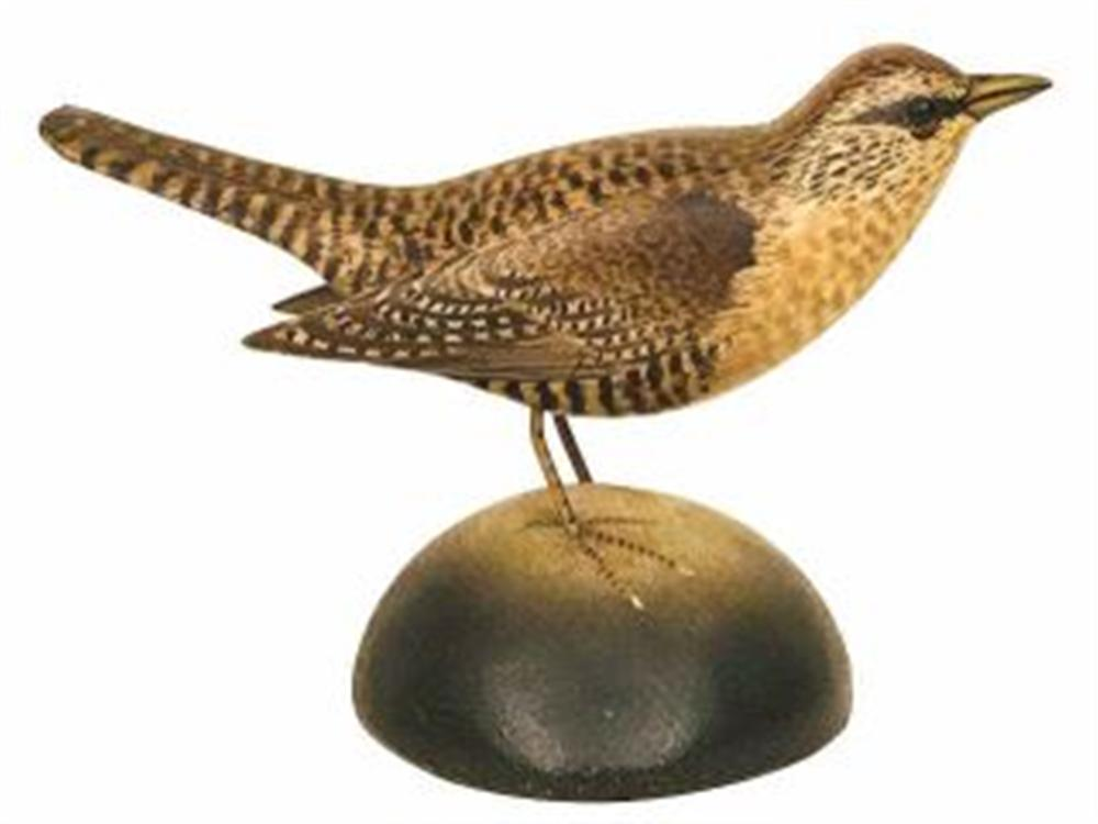 Life Size House Wren by Crowell