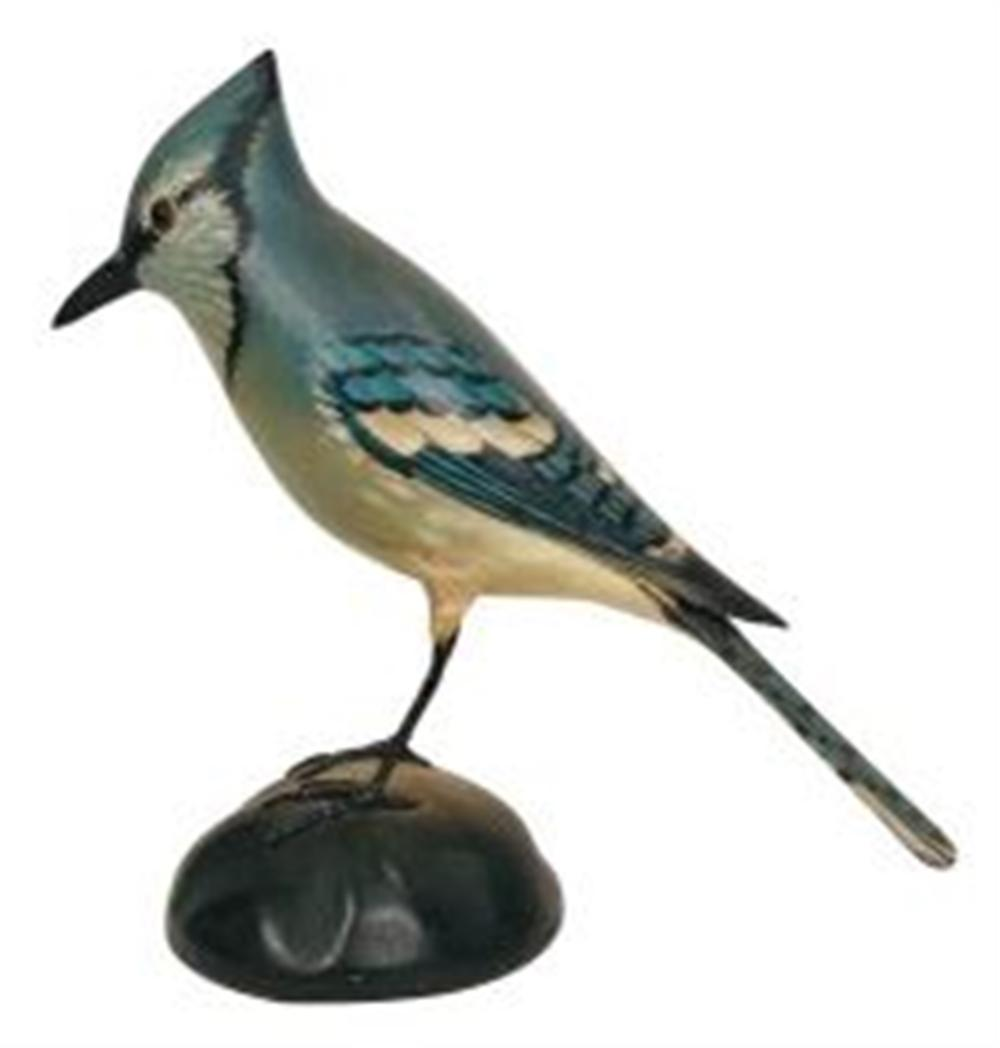 Life Size Blue Jay by Crowell