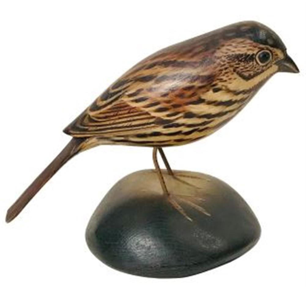 Life Size Wood Thrush by Crowell