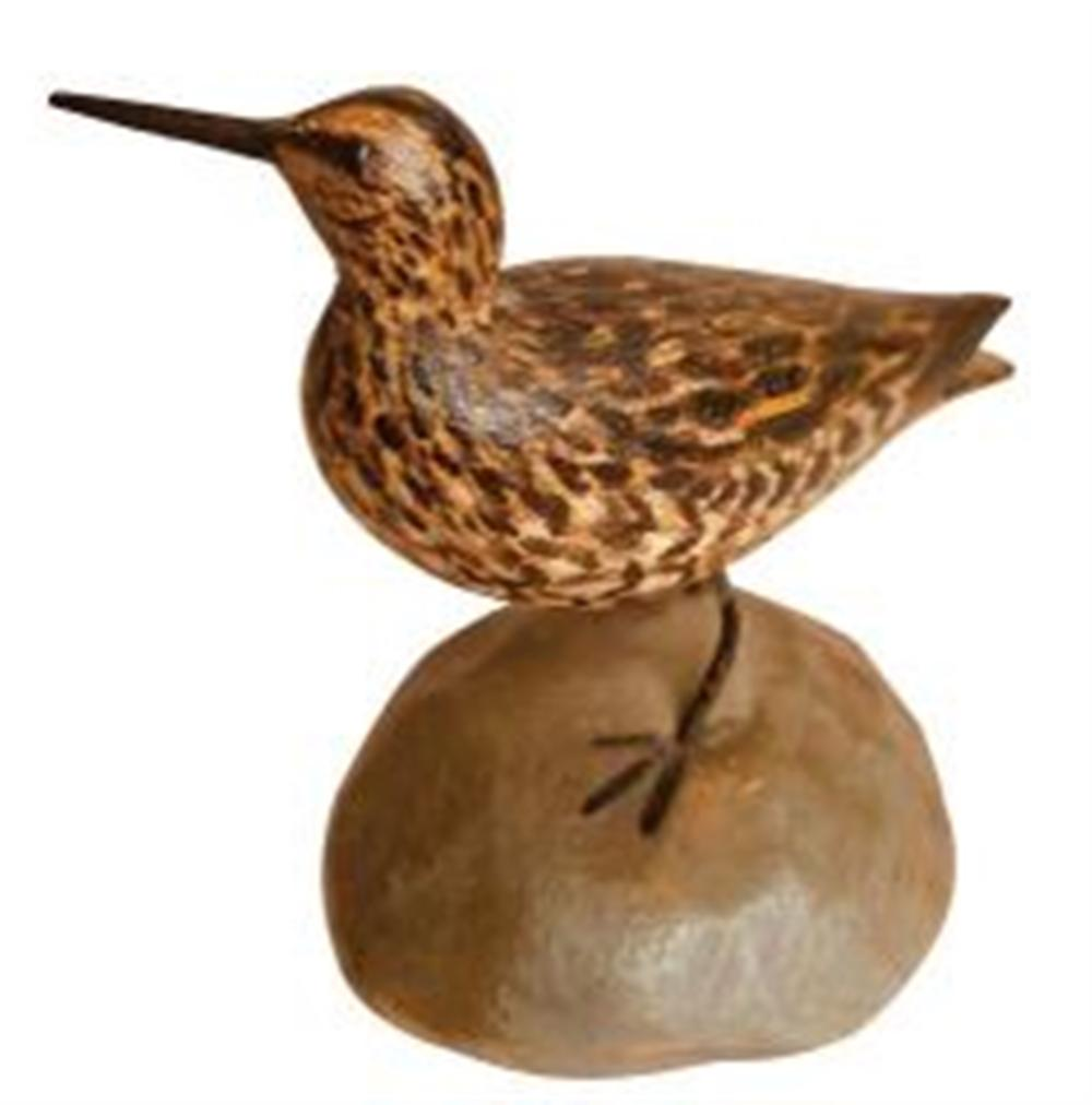 Miniature Dowitcher by Crowell, Turned Head