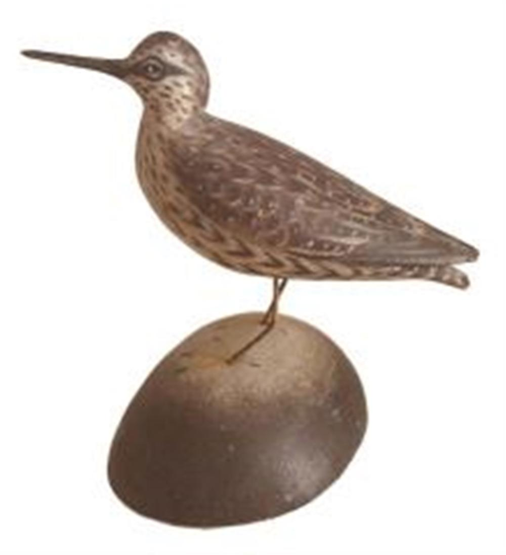 Miniature Yellowlegs by A. E. Crowell