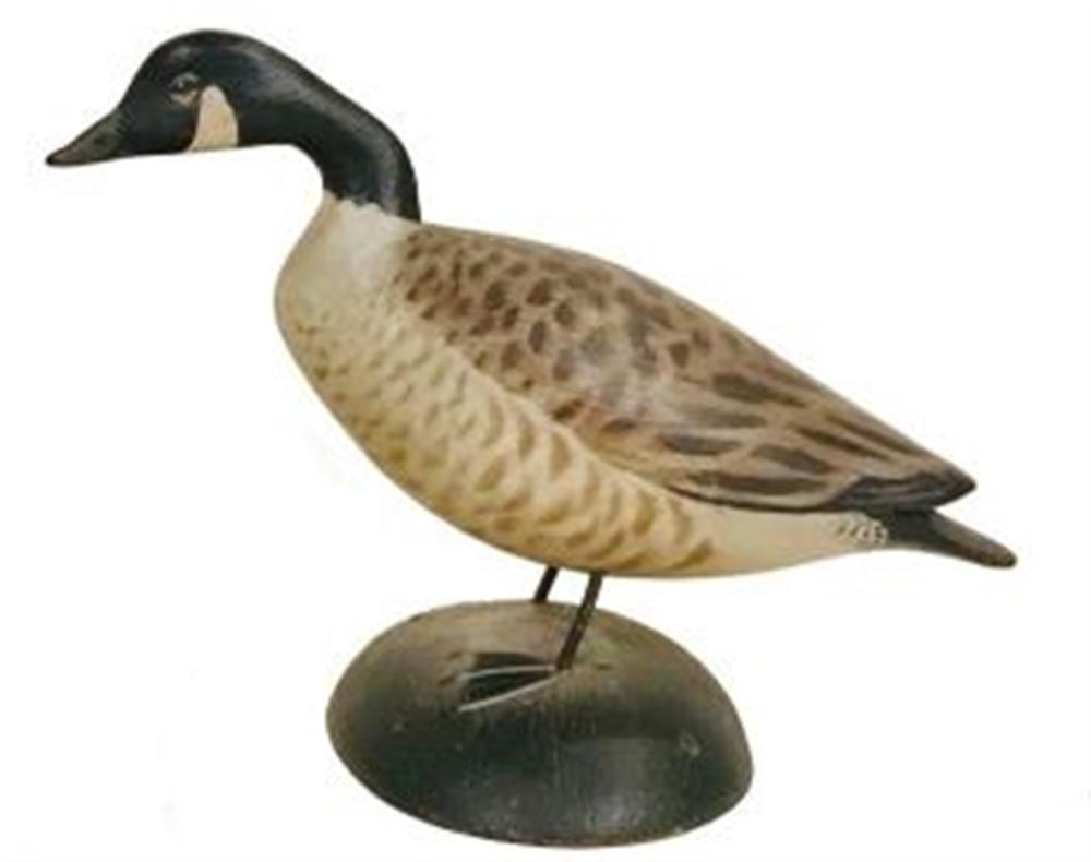Minature Crook Necked Canada Goose by Crowell