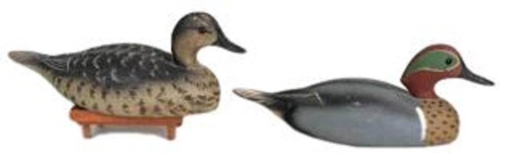 Wildfowler Factory Green Winged Teal Pair