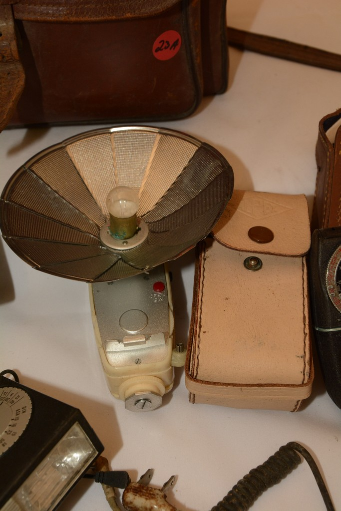 Vintage Camera Lot Argus with assorted items
